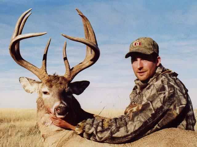 Deer Hunting - Big Oklahoma Whitetail Buck