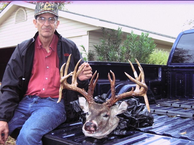 Big Whitetail Buck from Fannin County, Texas