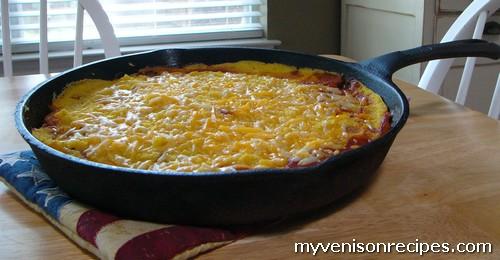 Venison Recipes: Venison Tamale Pie Casserole Recipe