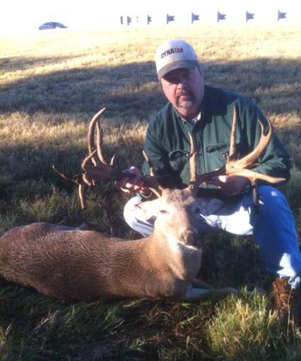 Big Whitetail Buck Killed Near Lake Grapevine, Texas