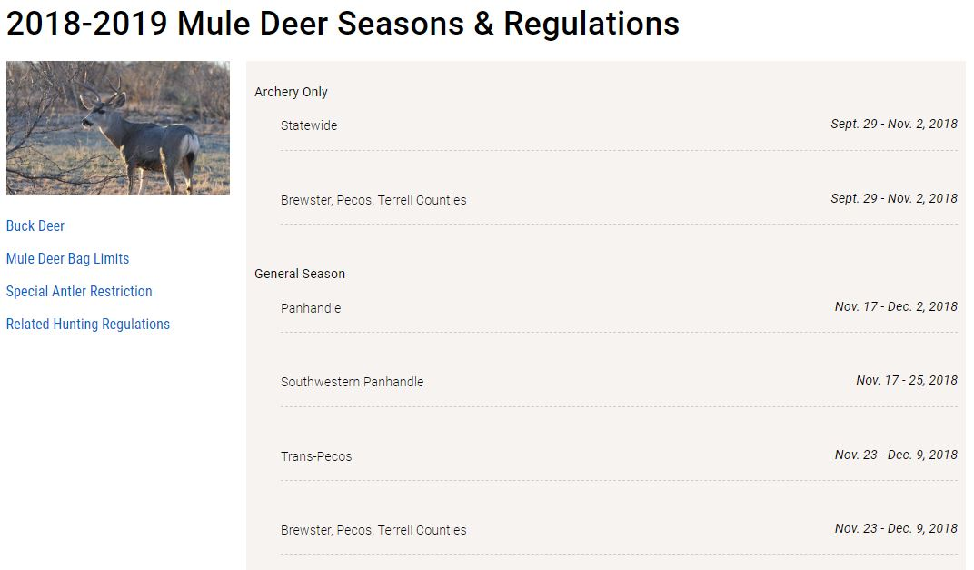 Texas Hunting Times | Your Texas Hunting Guide & Online Magazine